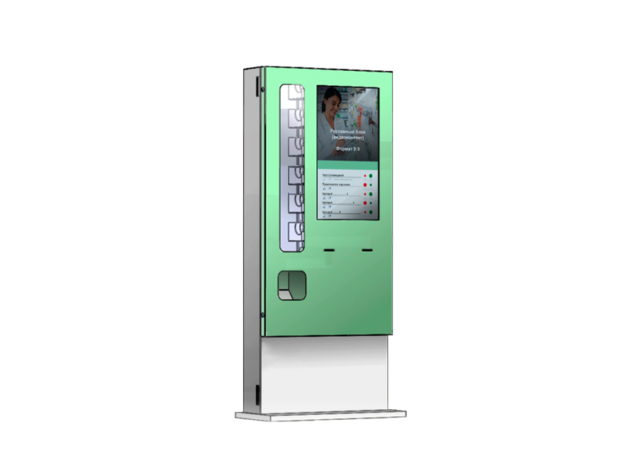 Фото - Сенсорный киоск самообслуживания с автоматической подачей товара LR Service 32 lr eco 32 с декоративной торцевой подсветкой