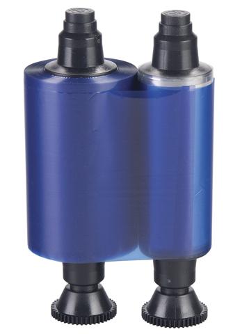 Фото - Синяя монохромная лента Evolis RCT012NAA футболка мужская reebok archive strip tee soli bk3839 т синяя