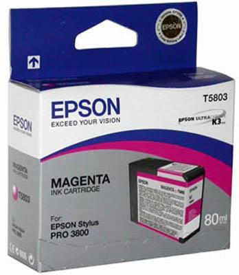 T580A Vivid Magenta 80 мл (C13T580A00) t6053 vivid magenta 110 мл c13t605300