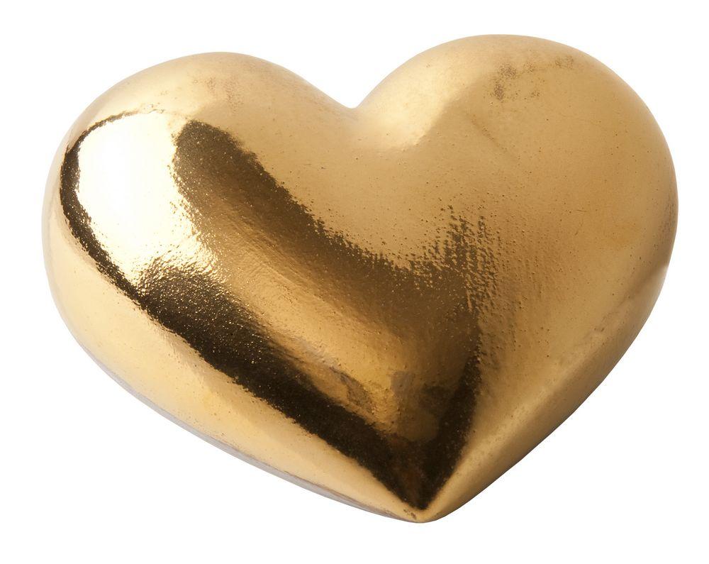 Фарфоровое сердце Golden Heart фото