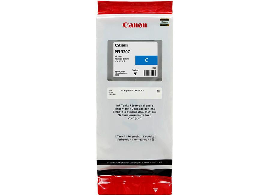 PFI-320 Cyan 300 мл (2891C001) pfi 1000c cyan 80 мл 0547c001