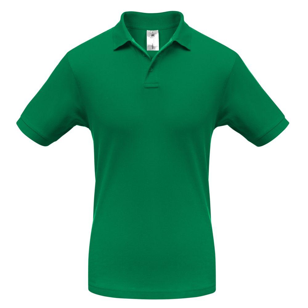 рубашка детская s cool рубашка для мальчика серо зеленая клетка Рубашка поло Safran зеленая, размер S