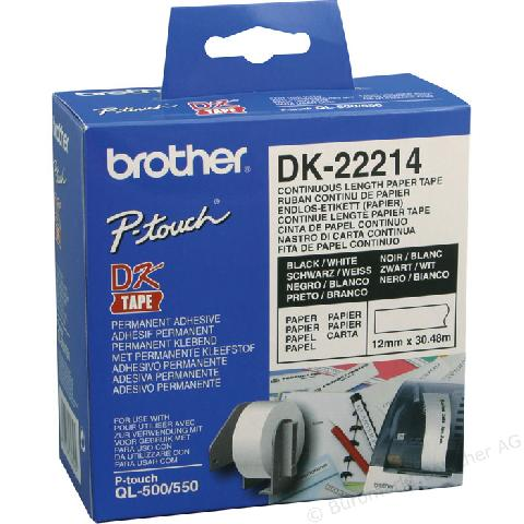 Клеящаяся лента DK22214 цена