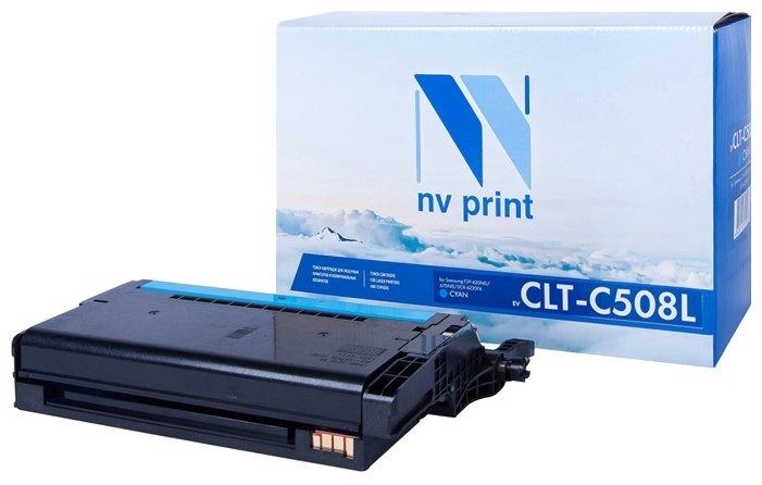 Картридж NV Print CLT-C508L картридж nv print clt k504s