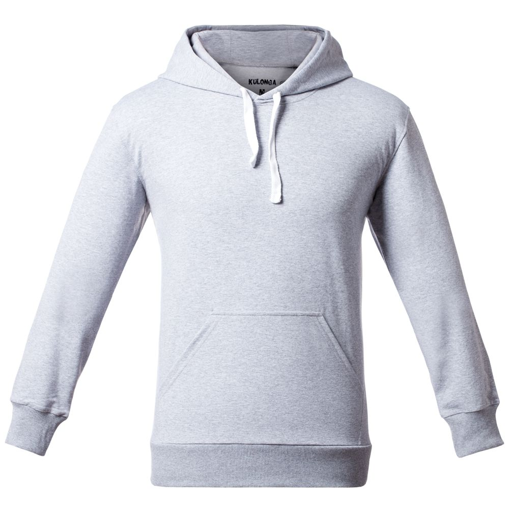 Толстовка Kulonga, серый меланж, размер M юбка sela цвет серый меланж skk 118 887 7413 размер m 46