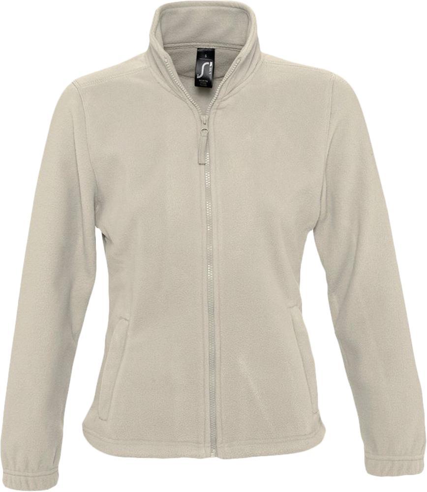 Куртка женская North Women бежевая, размер L куртка женская north women коричневая размер l