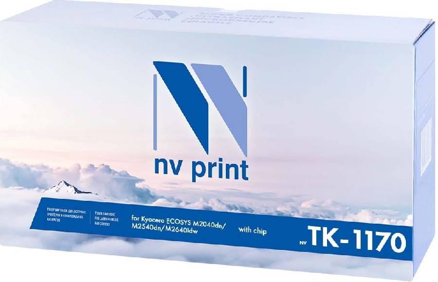 Фото - Картридж NV Print TK-1170 картридж nv print tk 5160c