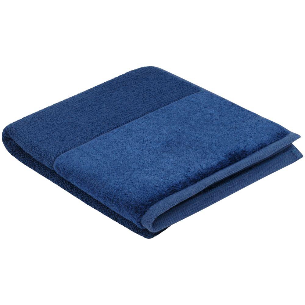 Полотенце Bamboo Luxe, среднее, синее