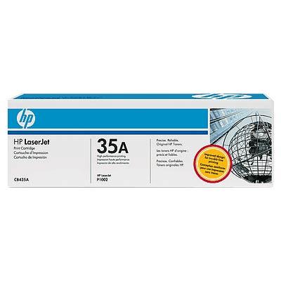 Фото - Тонер-картридж HP CB435A картридж лазерный target tr 35a cb435a