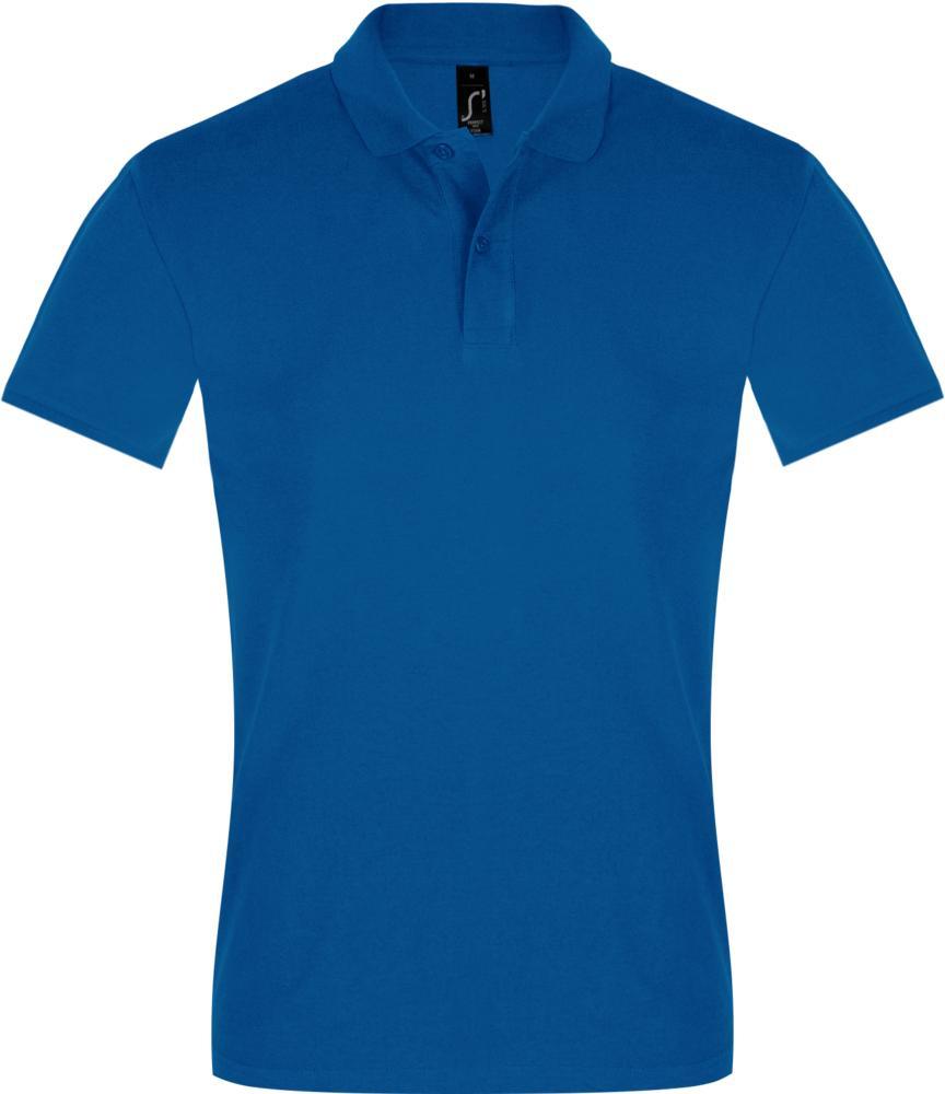 Рубашка поло мужская PERFECT MEN 180 ярко-синяя, размер XXL рубашка поло мужская spirit 240 ярко синяя размер xxl
