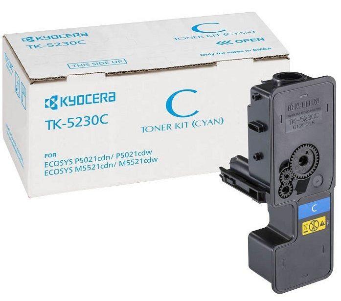 Тонер-картридж Kyocera TK-5230C тонер картридж kyocera tk 590m
