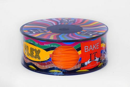 цена Пластик FILAFLEX Orange (оранжевый)