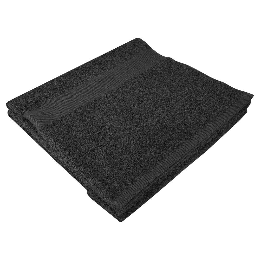 Полотенце махровое Soft Me Large, черное