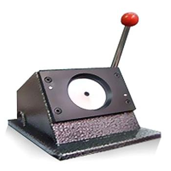 Фото - Вырубщик для значков Vektor d-58 мм гриф гантельный кмс d 30 мм обрезиненная ручка замок гайка кетлера l370 мм