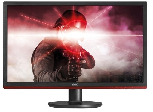 21.5 Gaming G2260VWQ6 black red