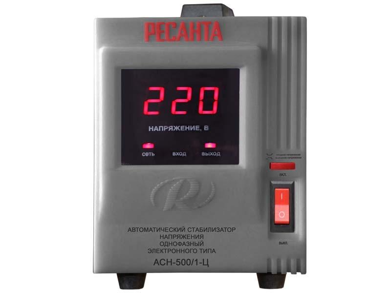 Купить Стабилизатор напряжения, АСН-500/1-Ц, Ресанта