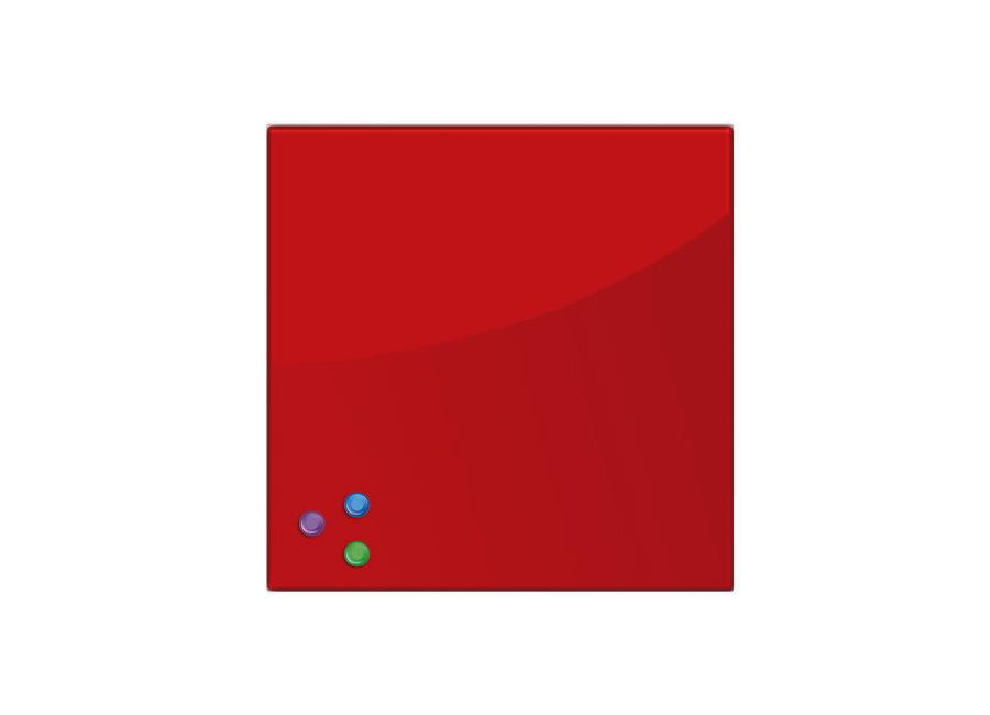 Фото - 45x45 см, красная, 3 магнита (236737) самокат кикборд novatrack disco kids детский 3 колесный 120sb discokids rd9 красный