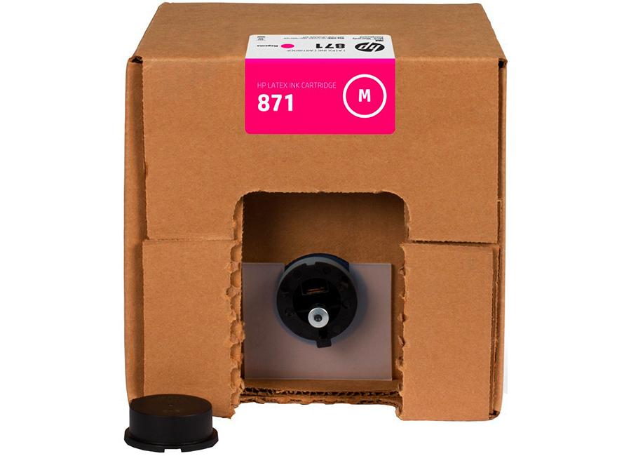 Фото - Картридж HP Latex 871 Magenta 3 л (G0Y80C) матрас мега комфорт spring latex soft mix 90x186