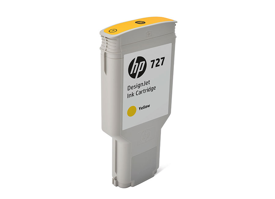 HP DesignJet 727 Yellow 300 мл (F9J78A) цена и фото