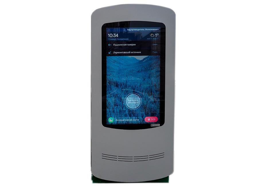 Уличный сенсорный киоск LR Street Classic 65 linux® administrator street smarts