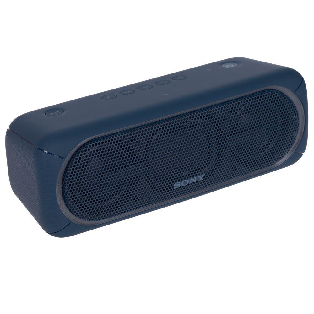 Беспроводная колонка Sony SRS-40, синяя sony srsxb21 blue беспроводная акустическая система