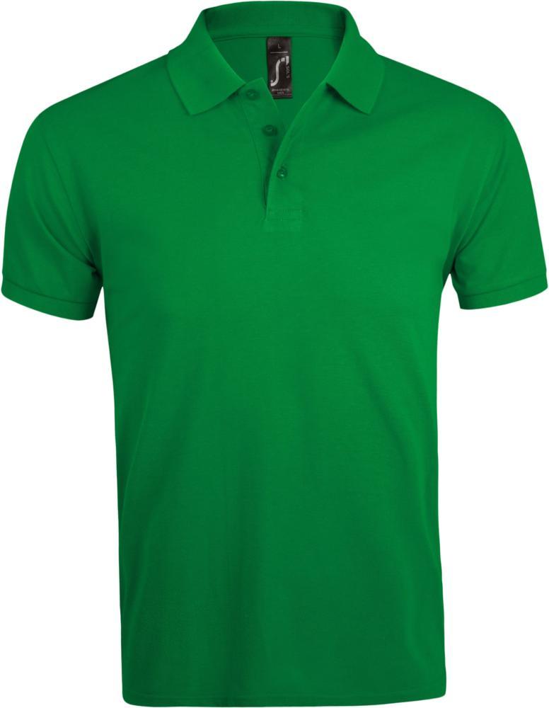 Рубашка поло мужская PRIME MEN 200 ярко-зеленая, размер XL рубашка поло мужская prime men 200 бежевая размер xl