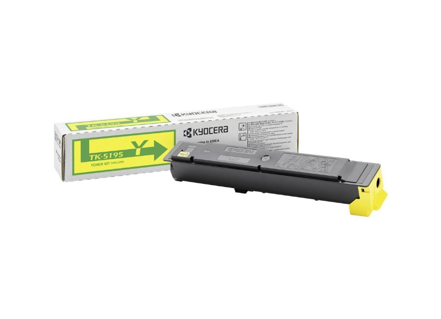 Тонер-картридж Kyocera TK-5195Y для TASKalfa 306ci картридж nvp совместимый nv tk 8305 yellow для kyocera taskalfa 3050 taskalfa 3051 taskalfa 3550 taskalfa 3551 15000k