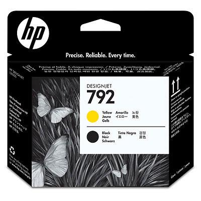 Фото - Печатающая головка HP Designjet 792 Yellow & Black (CN702A) печатающая головка hp 85 yellow c9422a