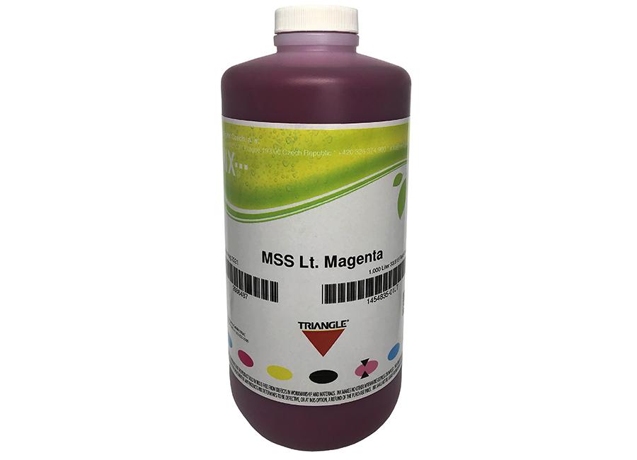 Фото - Бутыль с экосольвентными чернилами Triangle RXV Eco Light Magenta 1 л (INX-1478642_01LT) veika balance eco fast magenta 1 л бутыль