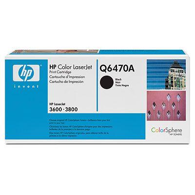 Тонер-картридж HP Q6470A