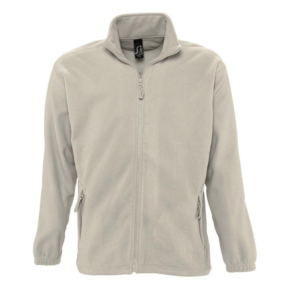 Куртка мужская North бежевая, размер M фото