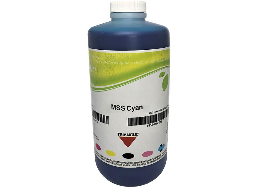 Фото - Бутыль с экосольвентными чернилами Triangle MSS Eco Cyan 1 л (INX-1454837_01LT) veika balance eco fast cyan 1 л бутыль