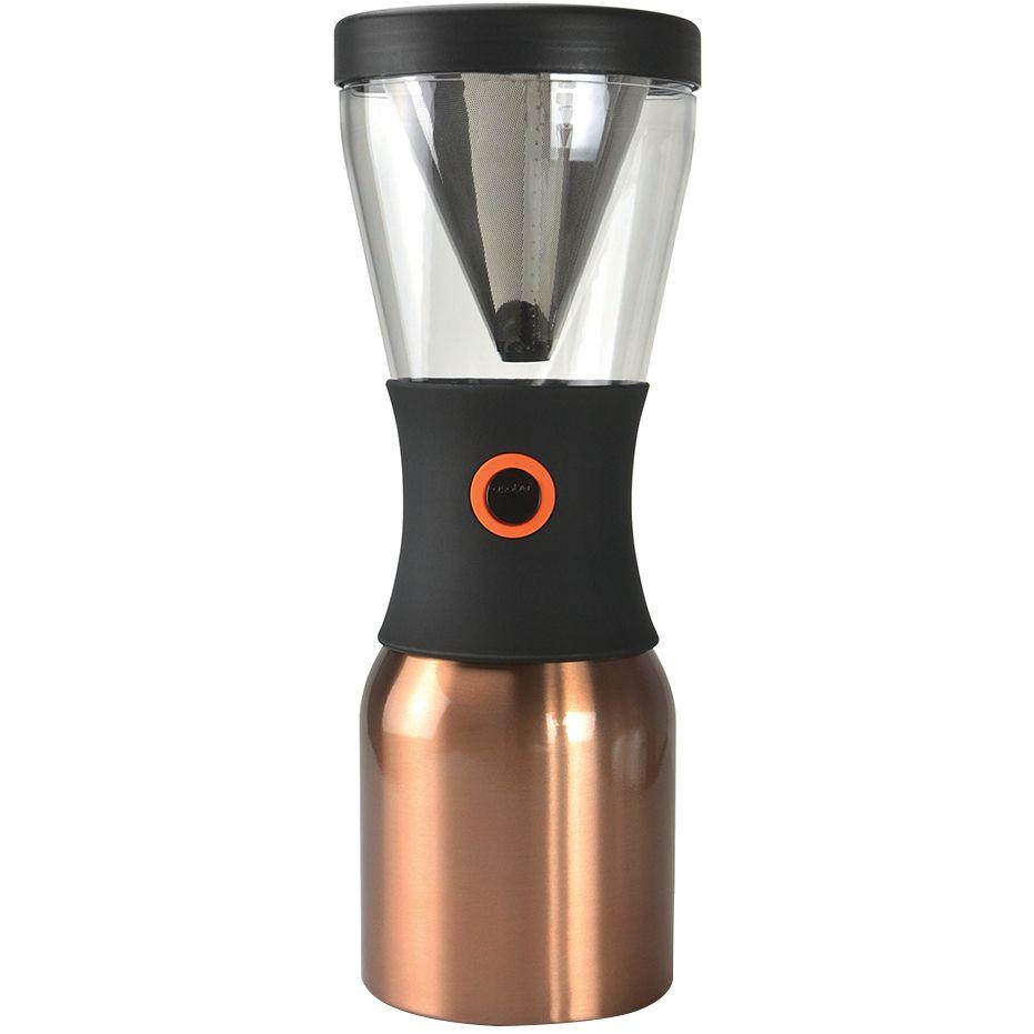 Портативная кофеварка Cold Brew, медная кофеварка портативная 1 л серебристая asobu cold brew kb900 silver black