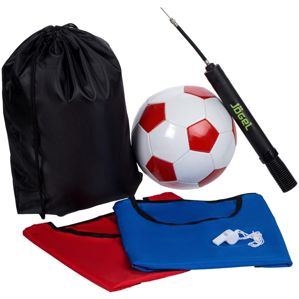 Набор для игры в футбол On The Field, с красным мячом, размер L