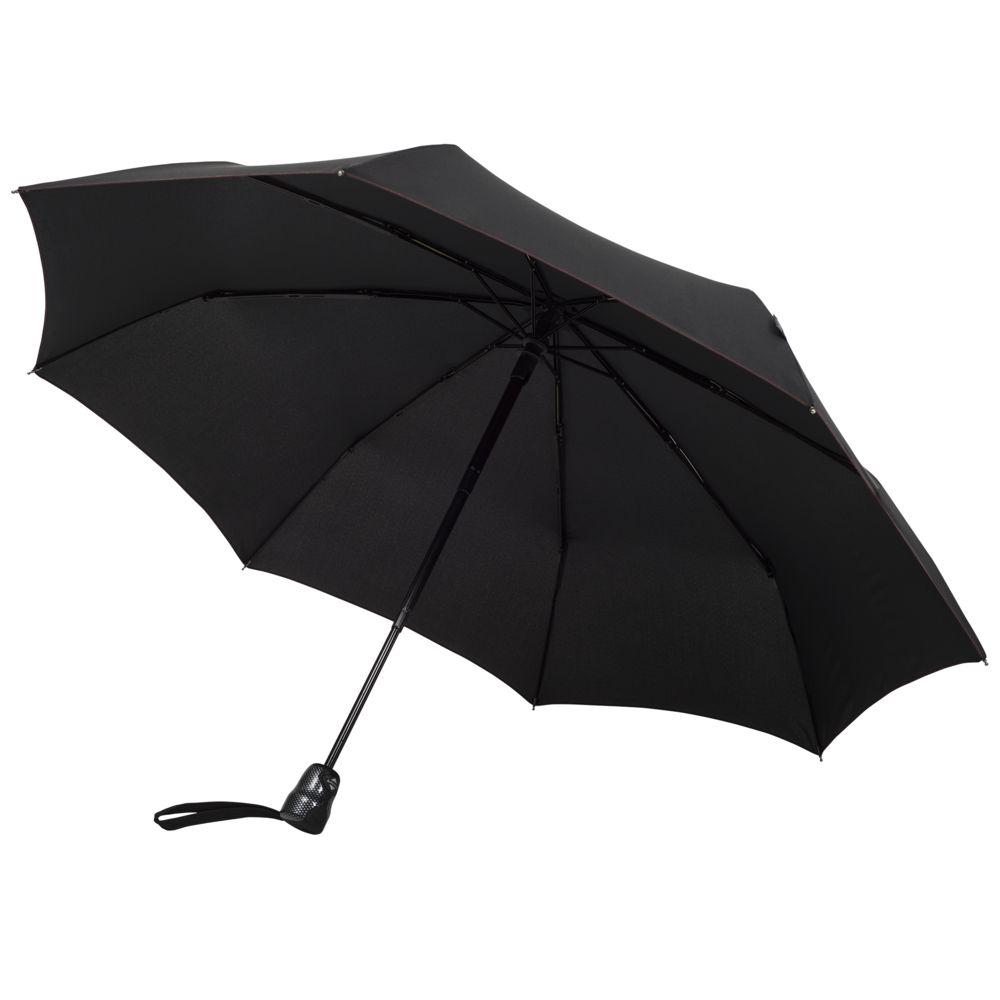 Складной зонт Gran Turismo Carbon, черный игрушка motormax maserati gran turismo 73361