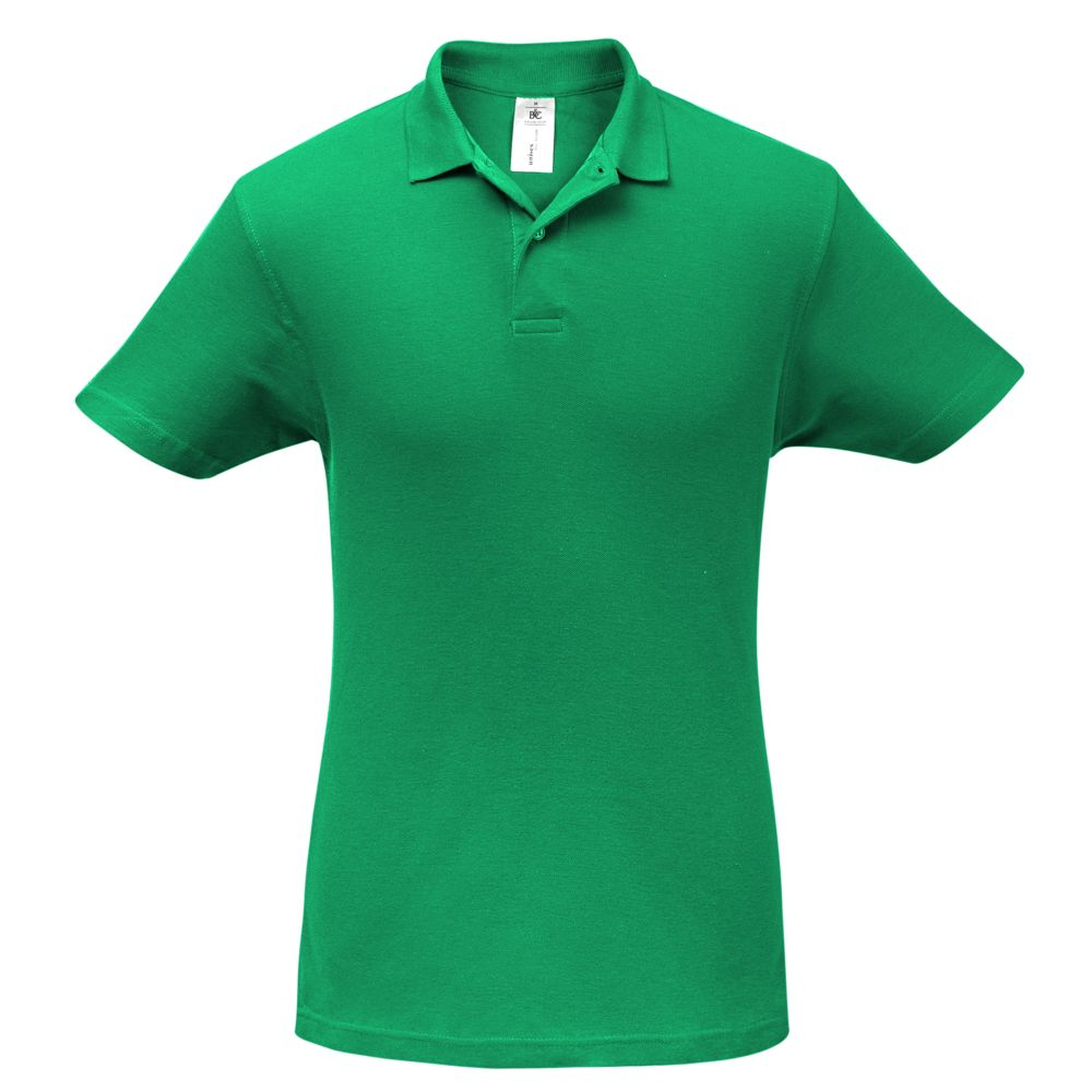 Рубашка поло ID.001 зеленая, размер L рубашка поло id 001 зеленая размер xxl