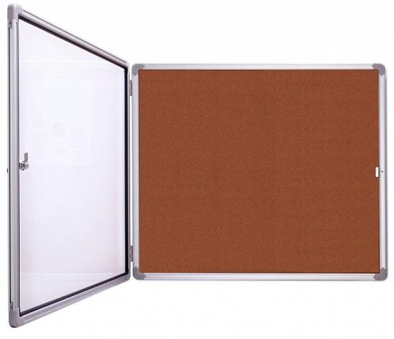 Купить Доска-витрина, Magnetoplan 87x108, 5 см