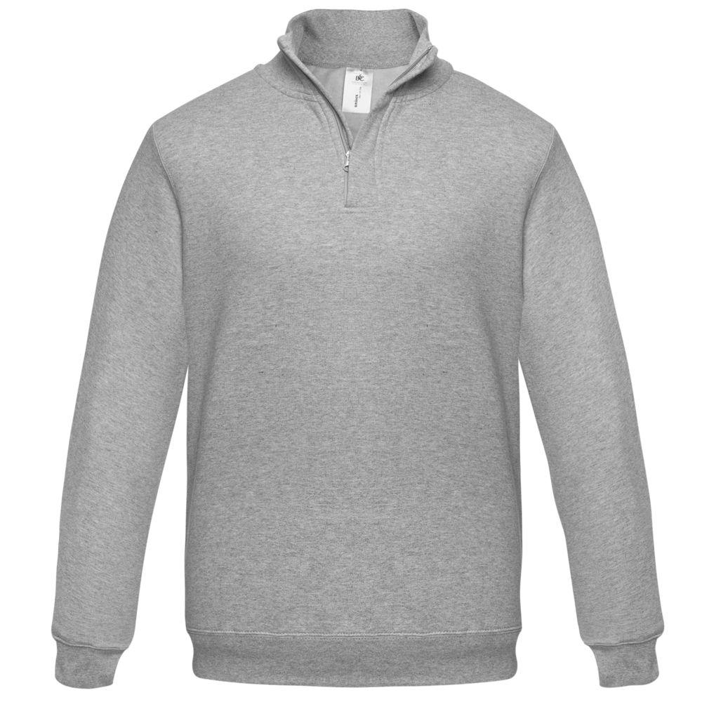 цена Толстовка ID.004 серый меланж, размер XXL онлайн в 2017 году