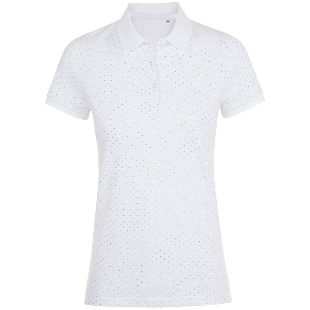 Рубашка поло женская BRANDY WOMEN белый/темно-синий, размер XL парка superdry темно синий 44 размер