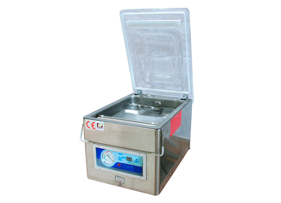 Настольная вакуум-упаковочная машина MAGIKON MDZ-260PD