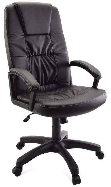 купить Кресло руководителя Гранд, черное по цене 6990 рублей