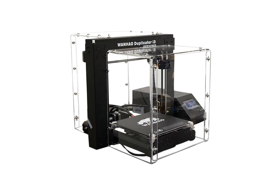 Duplicator i3 v2.1 в пластиковом корпусе (без стекла) wanhao 3d printer duplicator i3 plus steel frame desktop 3d printing