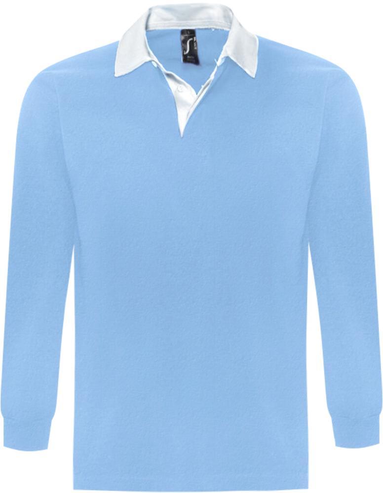 Фото - Рубашка поло мужская с длинным рукавом PACK 280 голубая, размер L lewis pack 23 l