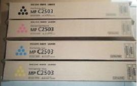 Тонер-картридж Ricoh MPC2503 голубой (841931) 10x toner seal for use in ricoh mpc5503 mpc2003 mpc2011 mpc2503 mpc3003 mpc3503 mpc4503 mpc5503 mpc6003