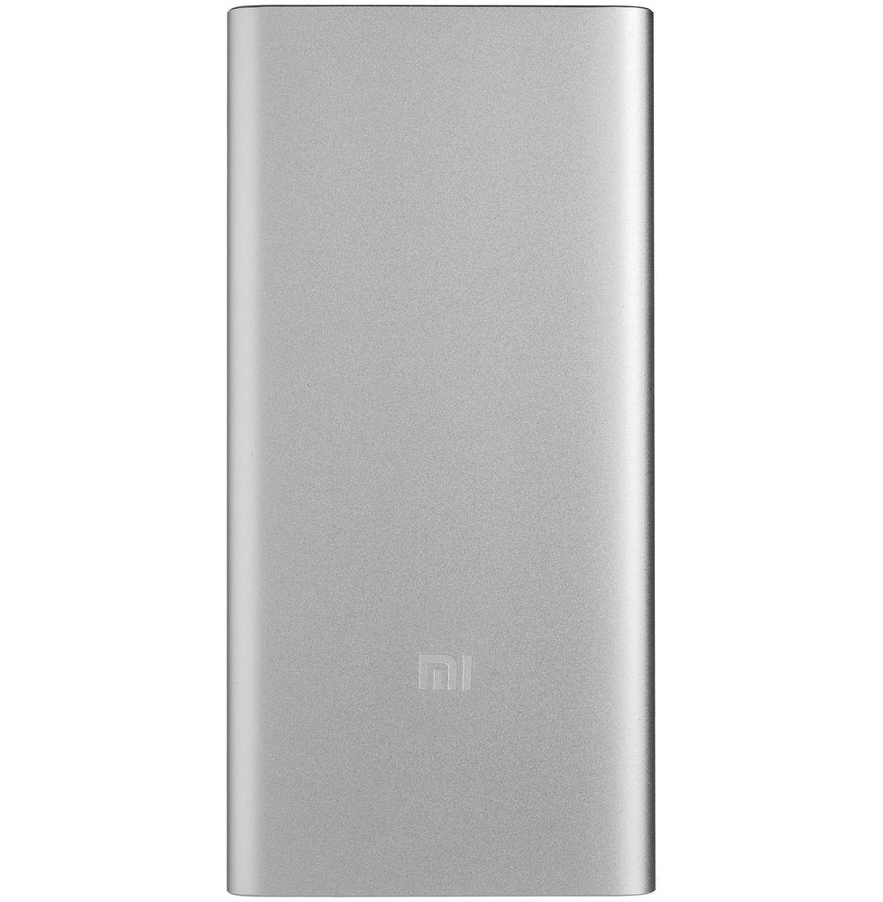 Фото - Внешний аккумулятор Mi Power Bank 2S, 10000 мАч, серебристый внешний аккумулятор deppa nrg turbo compact 10000 мач qc pd 3 0 18w led экран