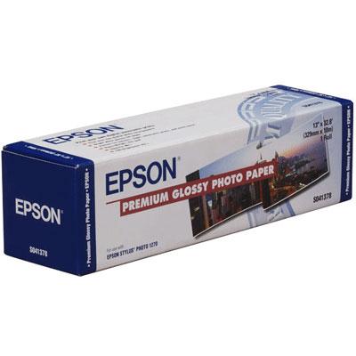 Фото - Epson Premium Glossy Photo Paper 16.5, 166 г/м2, 0.419x30.5 м, 50.8 мм (C13S042076) epson production pp film matte 166 г м2 1 524x30 5 м 50 8 мм c13s045299