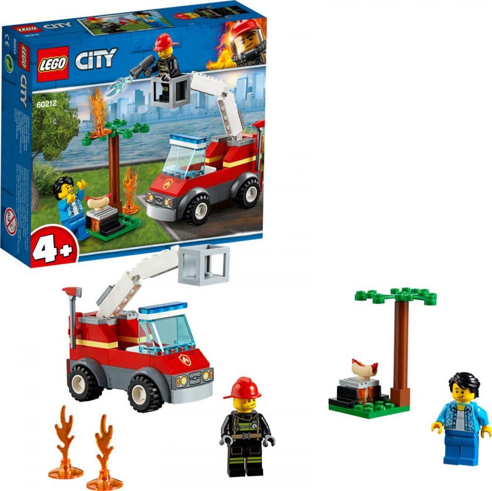 Конструктор «LEGO City. Пожар на пикнике»