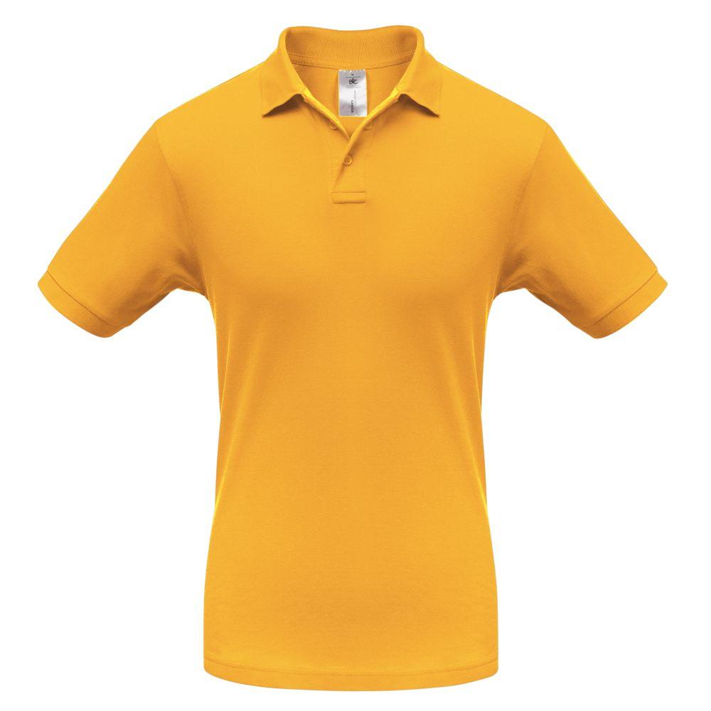 Рубашка поло Safran желтая, размер M