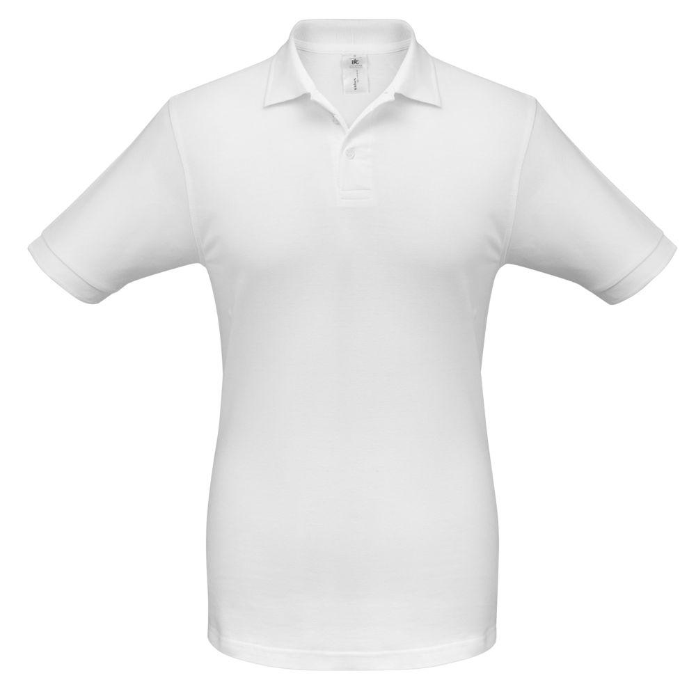 Рубашка поло Safran белая, размер XXL рубашка поло safran темно синяя размер xxl