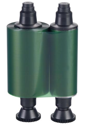 Фото - Зеленая монохромная лента Evolis R2014 лента для полноцветной печати evolis ymcko r3011